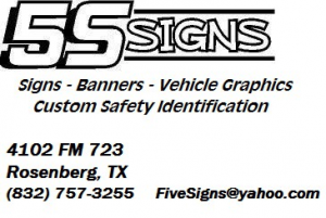 5S SIGNS